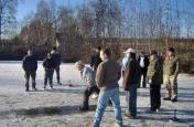 Hlubočka - odpoledne na ledě