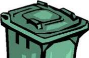 Termíny svozu komunálního odpadu
