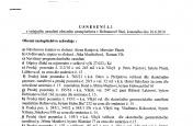 Usnesení č.3/2010