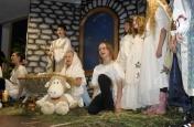 Zpívání u živého betlému