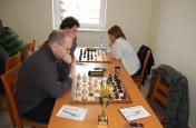 Šachy - ligové utkání