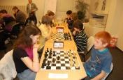 Šachy - přebor škol
