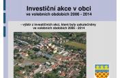 Proměny obce 2006 - 2014