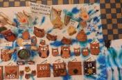 Výstava výrobků z keramické dílny žáků ZŠ