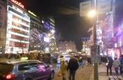 Divadlo Praha a procházka Prahou
