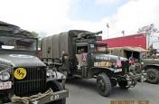 II. Kolona historických vojenských vozidel 6. 5. 2017