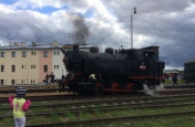 Nýřanské železniční září - historické vlaky v Heřmanově Huti